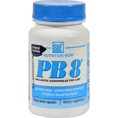 HGR0632224 - Nutrition NowPB 8 Pro-Biotic Acidophilus For Life - 60 Capsules