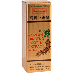 HGR0632737 - Superior Trading Co.Korean Ginseng Root and Ext - 10 oz