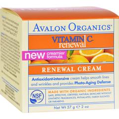 HGR0633768 - AvalonOrganics Renewal Facial Cream Vitamin C - 2 oz