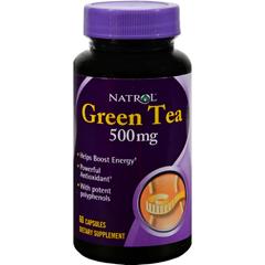 HGR0634089 - NatrolGreen Tea - 500 mg - 60 Capsules