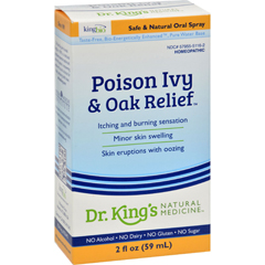 HGR0634097 - King Bio HomeopathicPoison Ivy Oak Relief - 2 fl oz