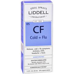 HGR0635557 - Liddell HomeopathicCold and Flu Spray - 1 fl oz