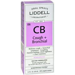 HGR0635599 - Liddell HomeopathicCough and Bronchial Spray - 1 fl oz