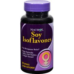 HGR0636126 - NatrolSoy Isoflavones - 60 Capsules