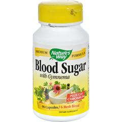HGR0637447 - Nature's WayBlood Sugar with Gymnema - 90 Capsules