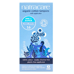 HGR0639724 - NatracareOrganic Cotton Tampons Super - 16 Tampons