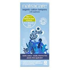 HGR0639740 - NatracareOrganic Cotton Tampons Regular - 16 Tampons