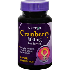 HGR0645275 - NatrolCranberry Extract - 400 mg - 30 Capsules