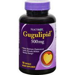 HGR0645408 - NatrolGugulipid - 500 mg - 100 Capsules
