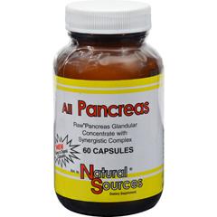 HGR0648519 - Natural SourcesAll Pancreas - 60 Capsules