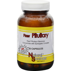 HGR0648550 - Natural SourcesRaw Pituitary - 50 Capsules