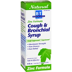 HGR0648949 - Boericke and TafelCough And Bronchial Syrup With Zinc - 8 fl oz
