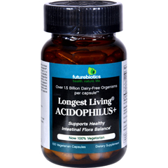 HGR0649566 - FutureBioticsLongest Living Acidophilus Plus - 100 Capsules
