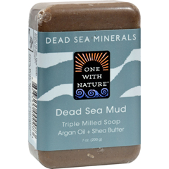 HGR0650234 - One With Nature - Dead Sea Mineral Dead Sea Mud Soap - 7 oz
