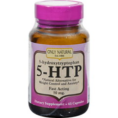 HGR0650457 - Only Natural5 - HTP 50mg - 45 Caps