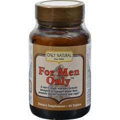 HGR0650556 - Only NaturalFor Men Only Formula - 30 Tablets