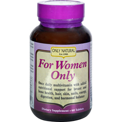 HGR0650572 - Only NaturalFor Women - 60 Tablets
