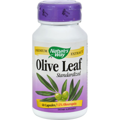 HGR0650929 - Nature's WayOlive Leaf Standardized - 60 Capsules