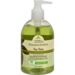HGR0653865 - Clearly Natural - Pure and Natural Glycerine Hand Soap Tea Tree - 12 fl oz