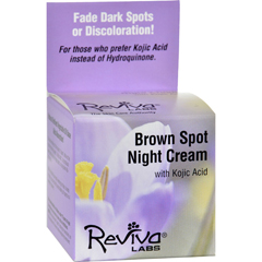 HGR0654111 - Reviva LabsBrown Spot Night Cream with Kojic Acid - 1 oz