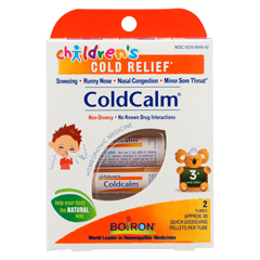 HGR0655522 - BoironChildrens Cold Calm Pellets - 2 Doses