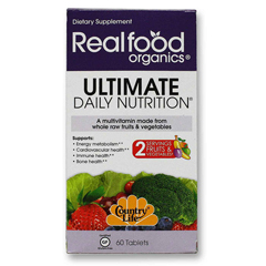 HGR0656397 - Realfood OrganicsDaily Nutrition - Organic - Ultimate - 60 Tablets