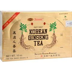 HGR0656934 - Superior Trading Co.Instant Korean Ginseng Tea - 100 Tea Bags
