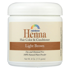 HGR0657023 - Rainbow ResearchHenna Hair Color and Conditioner Persian Light Brown - 4 oz