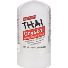 HGR0658237 - Thai Deodorant StoneThai Natural Crystal Deodorant Push-Up Stick - 2.125 oz