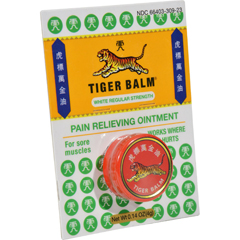 HGR0660092 - Tiger BalmPain Relieving Ointment - White Regular Strength - .14 oz