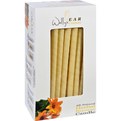 HGR0662080 - Wally's Natural ProductsBeeswax Candles - Herbal - Case of 75