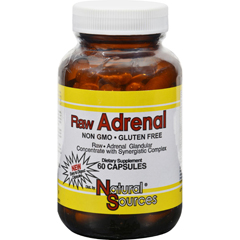 HGR0662304 - Natural SourcesRaw Adrenal - 60 Capsules