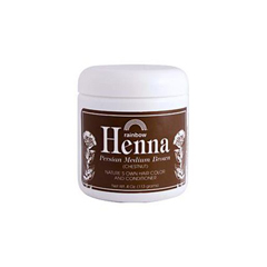 HGR0664029 - Rainbow Research - Henna Hair Color and Conditioner Persian Medium Brown Chestnut - 4 oz