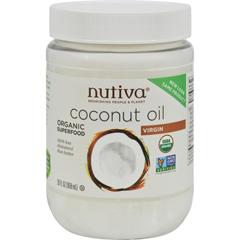 HGR0665059 - Nutiva - Organic Extra Virgin Coconut Oil - 29 oz