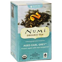 HGR0669556 - NumiTea Organic Aged Earl Grey - Black Tea - 18 Bags