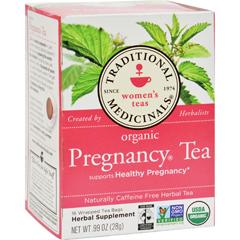 HGR0669937 - Traditional MedicinalsOrganic Pregnancy Tea - Caffeine Free - 16 Bags