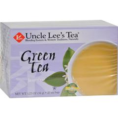 HGR0670570 - Uncle Lee's TeaGreen Tea - Jasmine - 20 Tea Bags