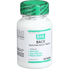HGR0673632 - BhiBack Pain Relief - 100 Tablets