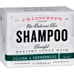 HGR0674762 - J.R. Liggett'sOld-Fashioned Bar Shampoo Jojoba and Peppermint - 3.5 oz