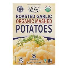 HGR0675009 - Edward & Sons - Organic Mashed Potatoes - Roasted Garlic - Case of 6 - 3.5 oz..