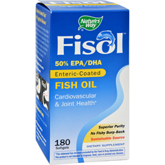 HGR0678276 - Nature's WayFisol Fish Oil - 180 Softgels