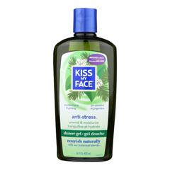 HGR0680108 - Kiss My FaceBath and Shower Gel Anti-stress Woodland Pine and Ginseng - 16 fl oz