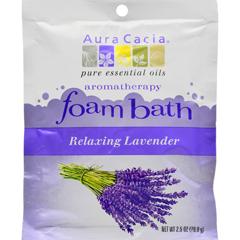 HGR0682377 - Aura CaciaFoam Bath Relaxing Lavender - 2.5 oz - Case of 6