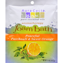 HGR0682393 - Aura CaciaFoam Bath Peaceful Patchouli and Sweet Orange - 2.5 oz - Case of 6