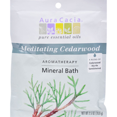 HGR0682559 - Aura CaciaAromatherapy Mineral Bath Meditation - 2.5 oz - Case of 6