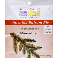 HGR0682591 - Aura CaciaAromatherapy Mineral Bath Soothing Heat - 2.5 oz - Case of 6
