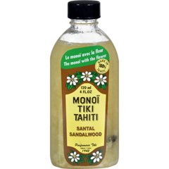 HGR0685230 - MonoiTiare Tahiti Santal Sandalwood Coconut Oil - 4 fl oz