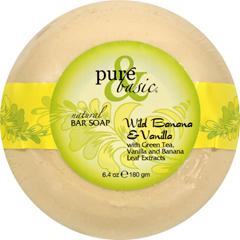 HGR0688432 - Pure and BasicBar Soap - Wild Banana Vanilla - Case of 6 - 6.4 oz