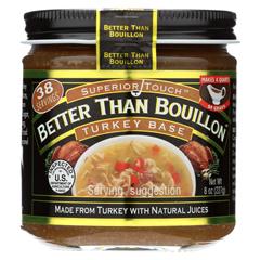 HGR0688986 - Better Than Bouillon - Seasoning - Turkey Base - Case of 6 - 8 oz..