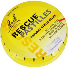 HGR0689398 - BachFlower Remedies Rescue Remedy Pastilles Orange Elderflower - 1.7 oz - Case of 12